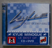 KYLIE MINOGUE * BEST OF 1987 - 1992 * FRANCE WITHDRAWN CD / DVD SET * HTF!