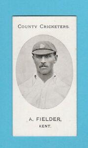CRICKET-TADDY-amp-CO-VERY-RARE-CRICKET-CARD-A-FIELDER-OF-KENT-1907