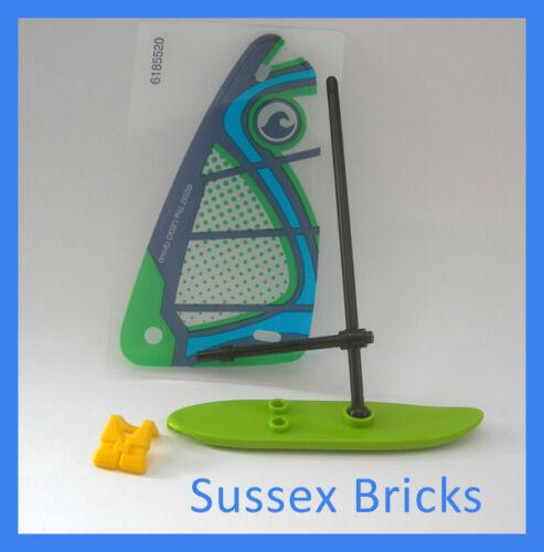 Lego City-Planche à voile Planche de Surf-sport plage eau de mer 60153-Nouvelles Pièces