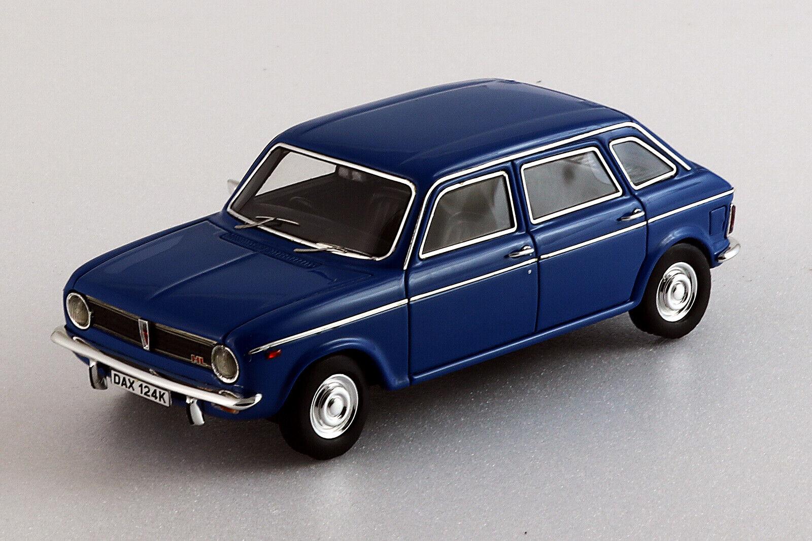 Austin Maxi 1750HL (1972) Teal Blau - Silas Modells - 1 43ème -  SM43041.tb