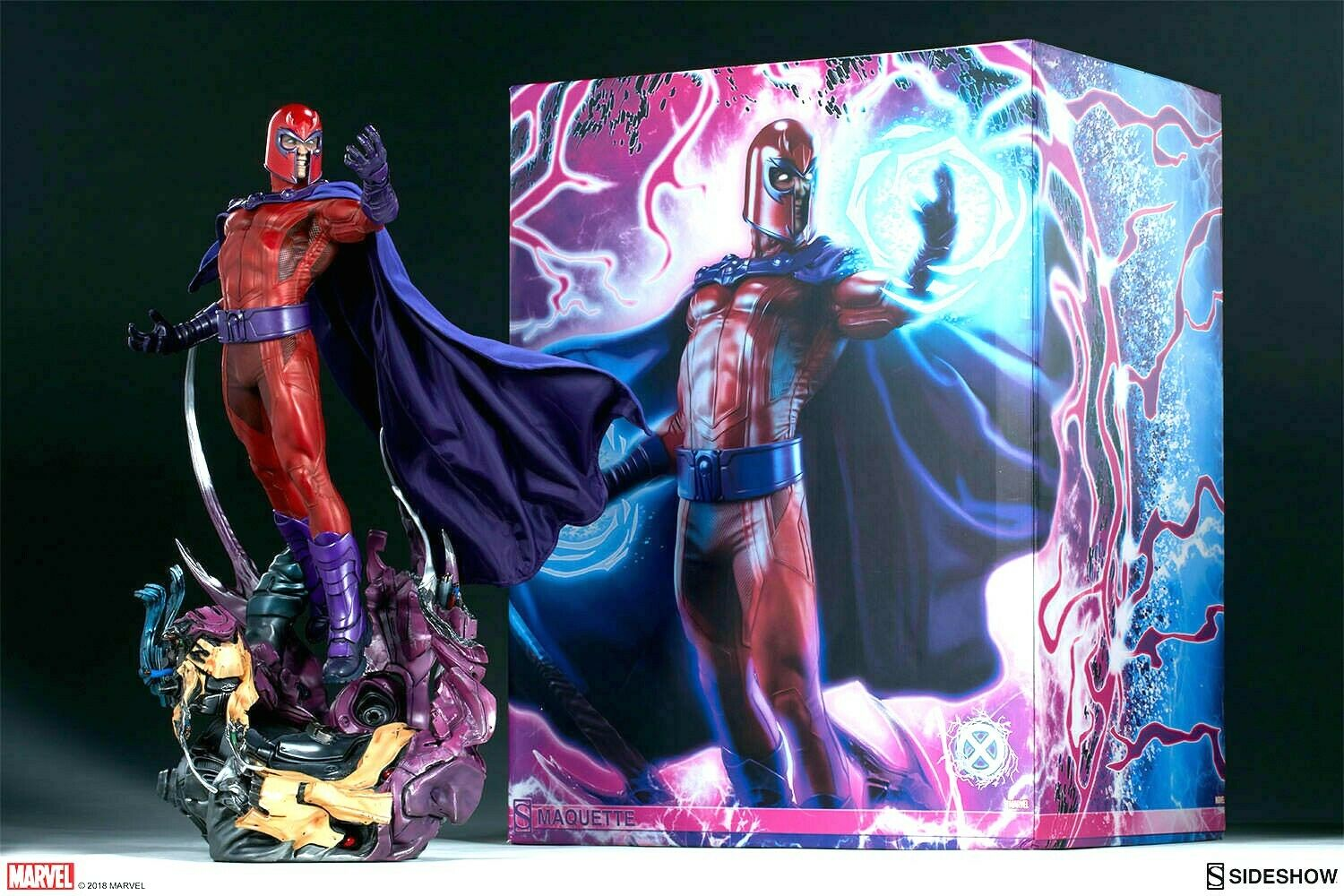 MARVEL Comics X-MEN Magneto Maquette by Sideshow Collectibles statue