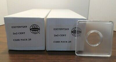25 Whitman 2x2 Snaplocks for CENTS by Whitman Coins