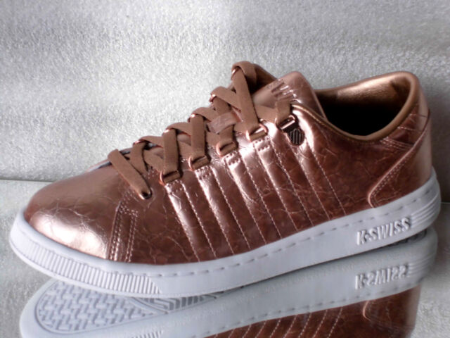 K Swiss Lozan 3 Aged Foil Rose Gold White Damen Sneaker Gr.39 5