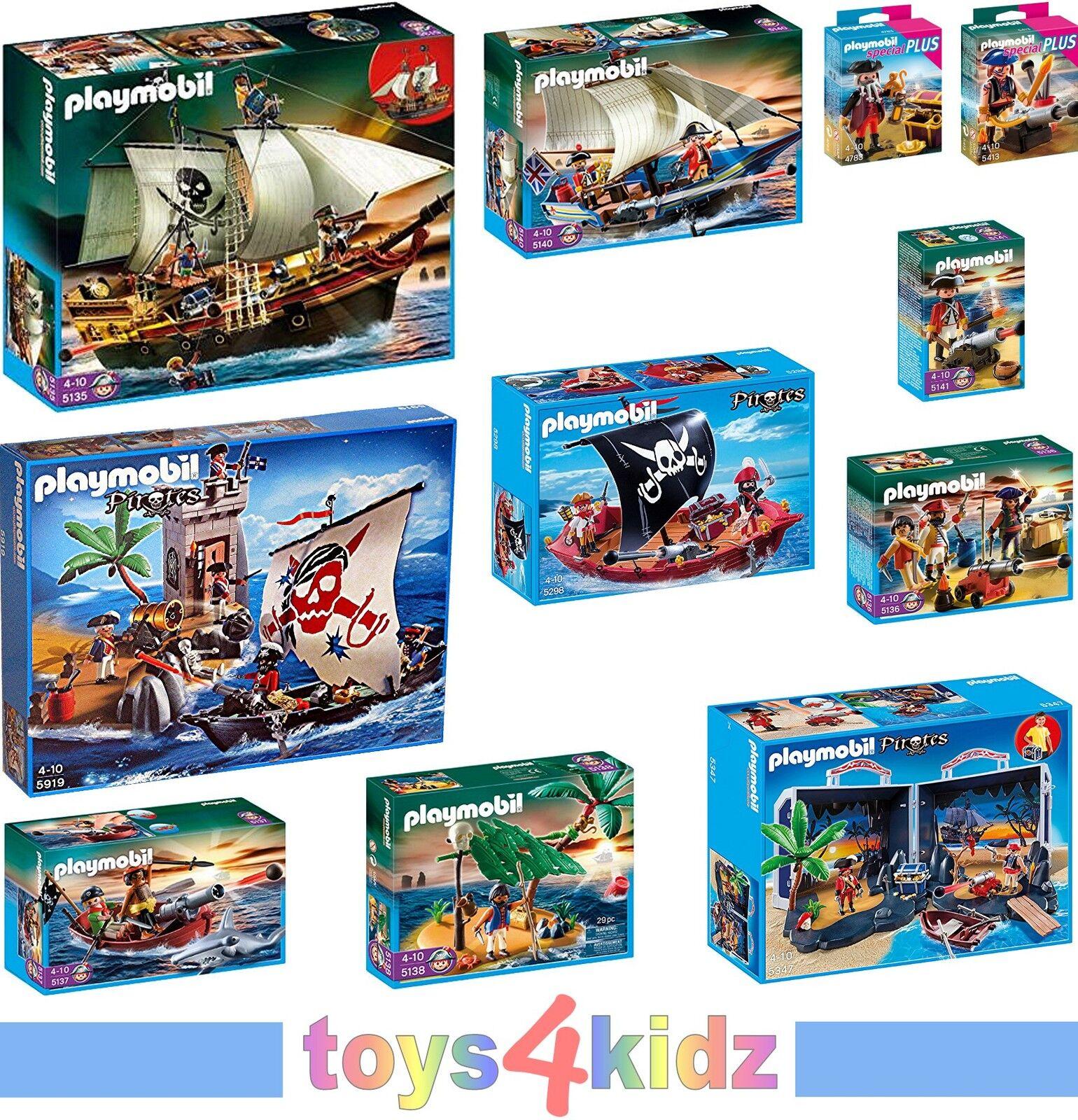 PLAYMOBIL® Piraten 5135 - 5141, 5919, 5347, 5298 zum Auswählen  NEU / OVP