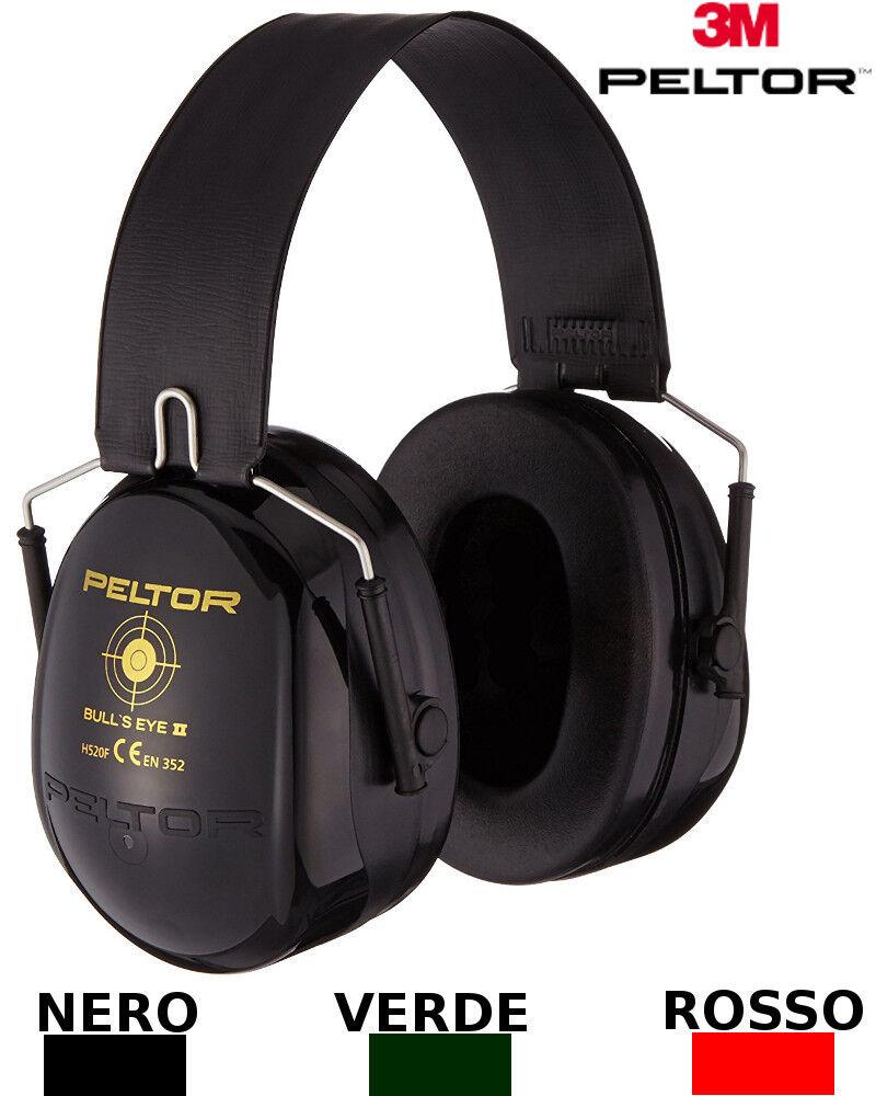 3M PELTOR Bull's Eye II Kopfhörer schützende 31 dB klappbar H520F-440-RD Polygon  | Elegante und robuste Verpackung