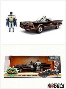 Batman-Classic-Tv-Series-BATMOBILE-1966-Metal-Die-Cast-Figure-Jada-Toys-1-24-New