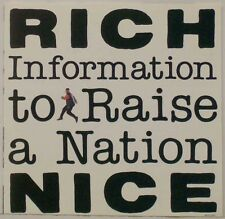 Rich Nice - Information to Raise a Nation - audio cassette tape