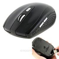 USB 2.4 GHz Wireless Kabellos Funkmaus Mouse Optische Notebook PC Computer Maus