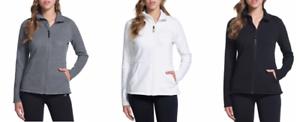 NEW-Skechers-Performance-Ladies-039-Go-Walk-Full-Zip-Fleece-Jacket