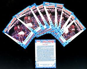 18-Lot-1989-90-Fleer-Michael-Jordan-Sticker-3-Chicago-Bulls-HOF