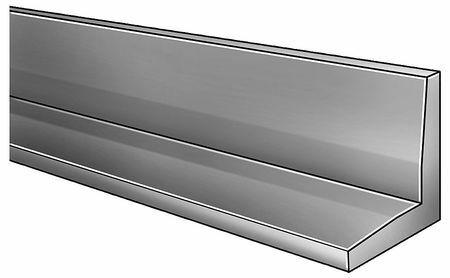 Zoro Select 2Aur7 Angle Stock,Steel,1//8 In T,1 In Leg,6 Ft