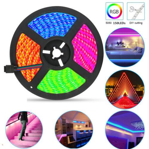 New WIFI RGB APP LED Stripe 5050 Leiste Streifen Band Licht Leuchte Lichterkette