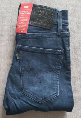 Levi's W23 Jeans Daydreaming Levis da Super Jeans Skinny L34 Mile donna High 7ISqxcwaO