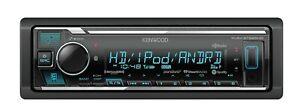 Kenwood KMM-BT525HD In-Dash Digital Media Receiver with Bluetooth /& HD Radio