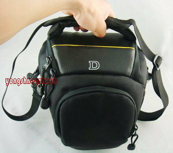 Digital DSLR Camera Bag Case Fit Nikon D90 D5100 D7000 D3100 D80 D3200 P500 D70