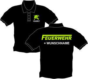 official photos 6042f a4c60 Details zu Feuerwehrshirt Feuerwehr Poloshirt Polohemd langes F Kinder Polo  Shirt 22
