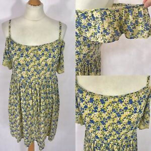 NEW-LOOK-Ladies-Floral-Summer-Dress-Size-8-18