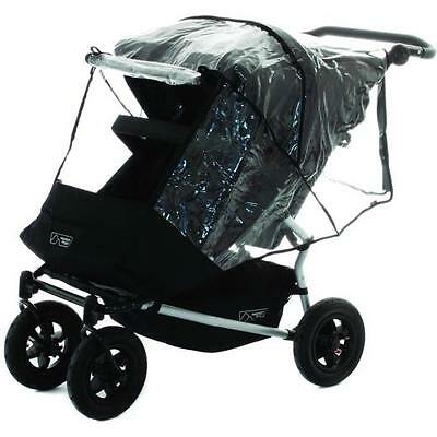 Heavy Duty Rain Cover To fit Mountain Buggy Duet Twin Double Pushchair