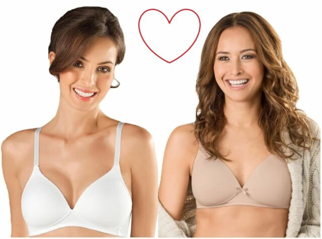 Naturana Non-wired MOULDED Lightly Padded Soft Cup Bra 5166 Lingerie ... c6810e6f4