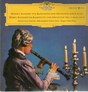 LP Mozart / Weber Konzerte für Klarinette und Orchester,, Geuser,  Radio-Symph-O | eBay
