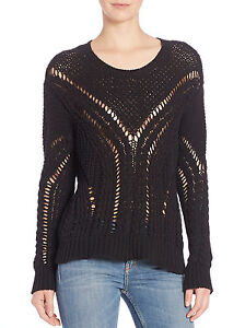 Sweater Iro Open Xsmall Vendie Knit qxgYaw