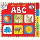 Play and Learn: Play and Learn ABC by Roger Priddy (2013, Board Book)