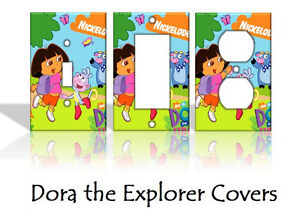 Dora The Explorer Light Switch Covers Nickelodeon Home Decor Outlet Ebay