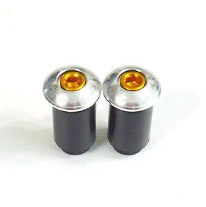 gobike88-XON-XSS-22-Handle-Bar-End-Caps-Plugs-for-ROAD-MTB-Silver-H15