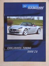 Hamann Tuning BMW Z8 (inkl. Sondermodell Monaco!), Prospekt / Brochure, D/GB