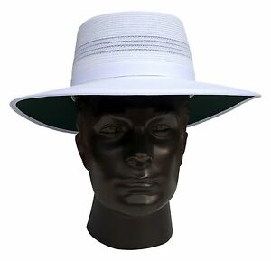 5b7c73071b0967 Image is loading REO-Mens-Headwear-Camelia-Sports-Cricket-White-Summer-