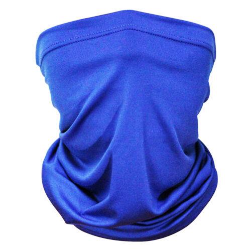 Face Mask Gaiter Biker Scarf Tube Bandana Beanie Cover Cap Outdoor Headwrap