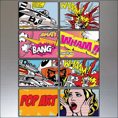 Vintage Retro Comic Strip Fridge Magnets Funny Quotes 9 Funny Fridge Magnets