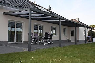 Heimwerker 2019 Neuestes Design Überdachung Terrassenüberdachung Vordach B 4,00 M X T 3,00 M Inkl.montage Neu