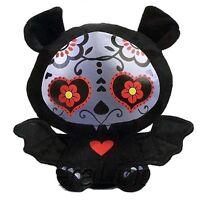 Skelanimals Diego The Bat Day Of The Dead 6 Inch Plush Sugar Skull Toy