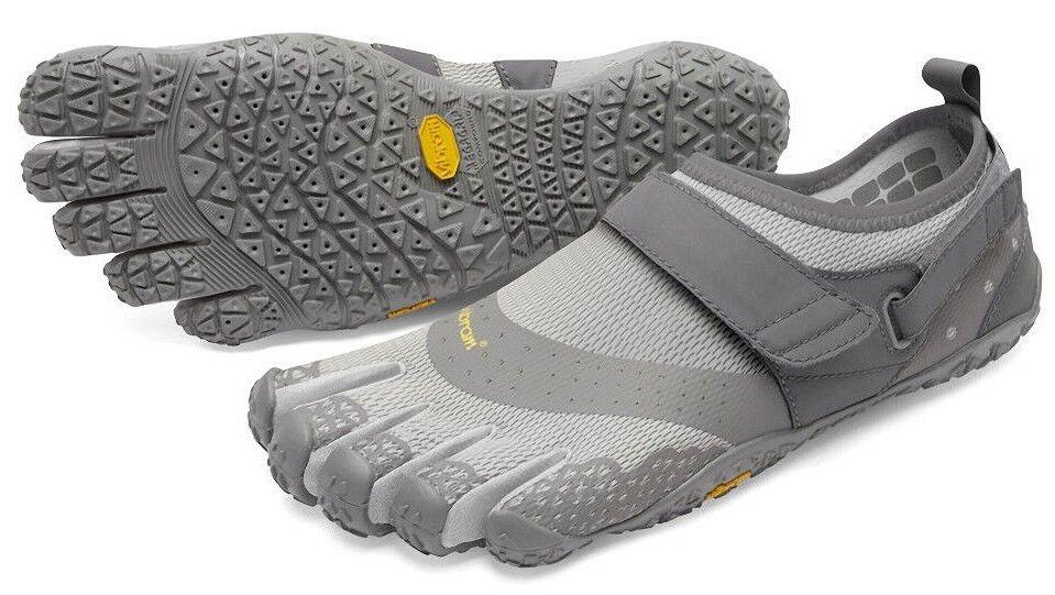 Vibram anfibio 18M7303 para hombre V-Aqua Gris anfibio Vibram húmedo/seco Zapatos De Senderismo Minimalista 4b188c