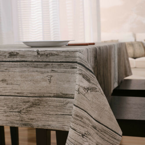 Arbre motif nappe de salle à manger table de cuisine housse protecteur chiffon vintage decor