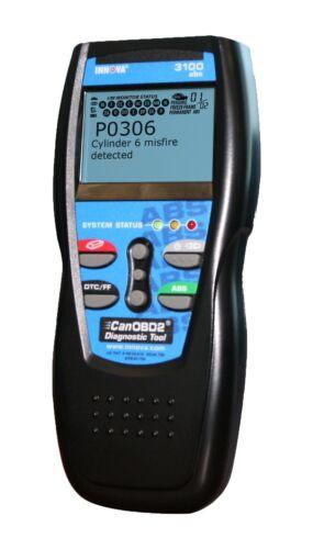 INNOVA 3100 ABS SCANNER DIAGNOSTIC SCAN TOOL Vehicle CODE READER CANOBD2