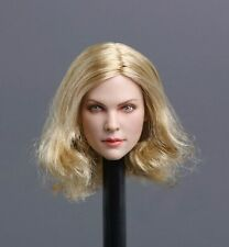 "Custom 1/6 Scale Charlize Theron Head Sculpt Fit 12"" Phicen Hot Toys Kumik Femal"