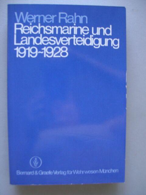 Reichsmarine Landesverteidigung 1919-1928 Marine Weimarer Republik Führung Konze