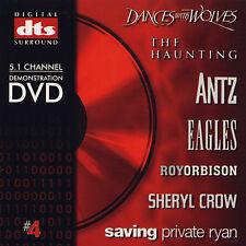 DTS 5.1, 6.1 & ES Ultimate Demo #4 Very Rare Authentic Genuine DVD/Thx