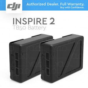 Dji Tb50 Intelligent Flight Batterie (4280 Mah) Pour Inspire 2 Drone-pack De 2-afficher Le Titre D'origine