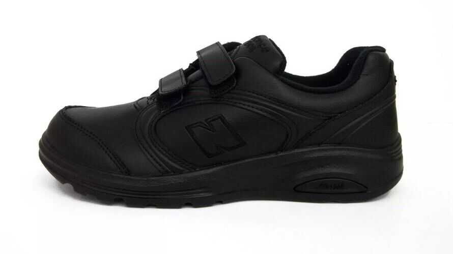New Balance WW812VK Women's Black Leather WALKING SNEAKERS Size 5D K175D