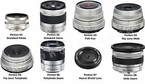 Genuine-PENTAX-for-Q-Mount-Lens-series-Wide-Zoom-FishEye-Telephoto-Toy-fromJapan
