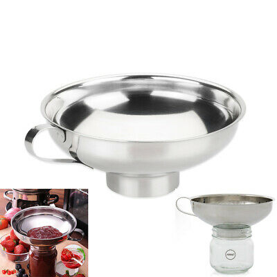 AVANTI Stainless Steel Funnel with Removable Strainer 12cm! 100/% Genuine