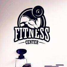 Bodybuilding Fitness Center Wandtattoo Wallpaper Wand Schmuck 57 x 57 cm