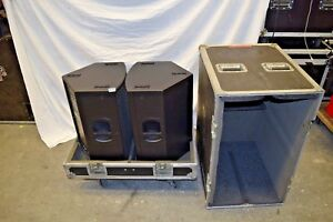 Details about RCF TT22A HIGH OUTPUT 2 WAY SPEAKER (PAIR)