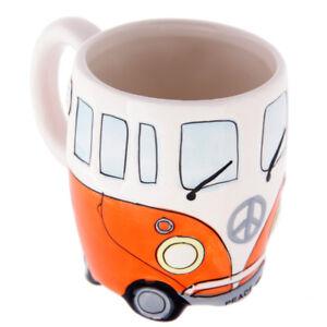 Kaffee Becher Becher Pott Tasse Volkswagen VW Bus Bulli T1 Camper Hippie