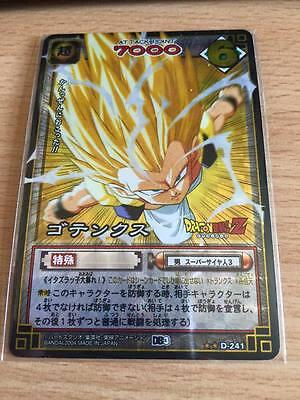 2004 Carte Dragon Ball Z DBZ Card Game Part 3 #D-290 Prisme Version Vending
