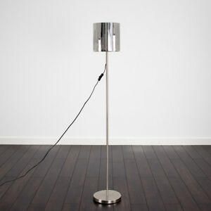 Contemporary new york skyline silver chrome floor standing light image is loading contemporary new york skyline silver chrome floor standing mozeypictures Choice Image