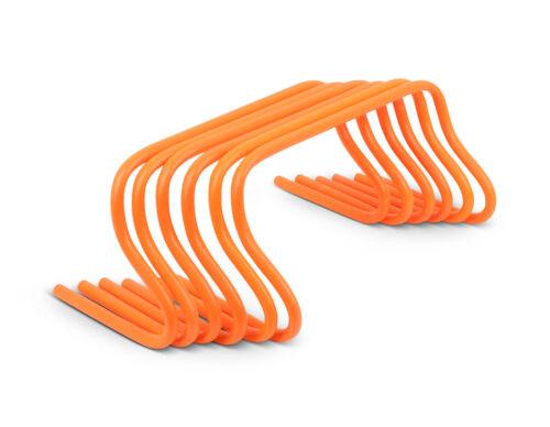 Orange Sprint Training Koordinationshürden Koordination Hürde Sprung